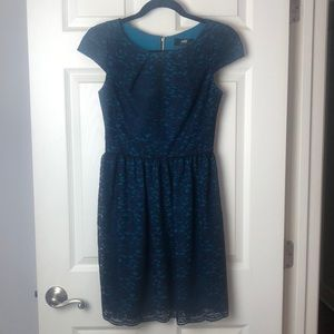 ABS blue lace dress size small